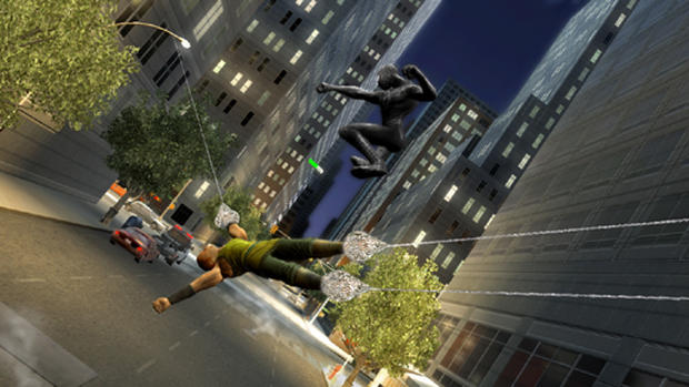"""Spider-Man 3"" Screenshots"