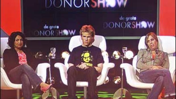 Image result for In 2007, there was a reality show on Dutch television were patients competed for a dying woman's kidney