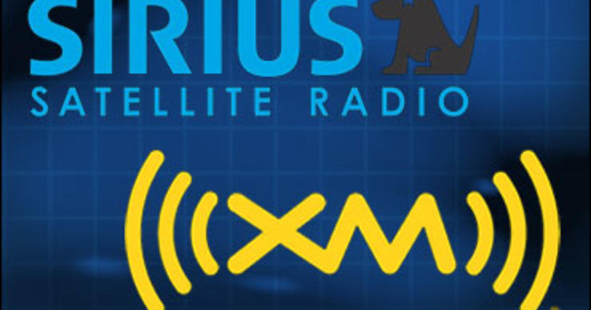 Satellite Radio Merger Finally Complete Cbs News