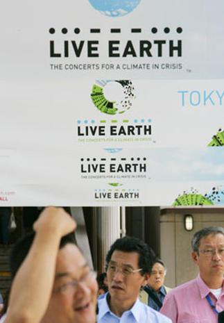 Live Earth Preps