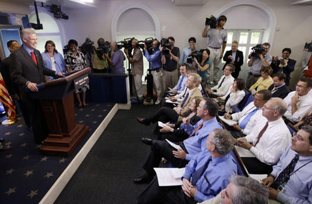 White House Unveils New Press Room