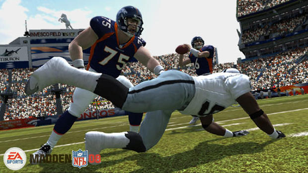 EA Presents Madden NFL 08