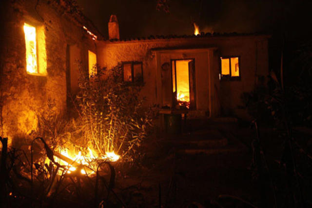 Wildfires Plague Greece - Pictures - CBS News