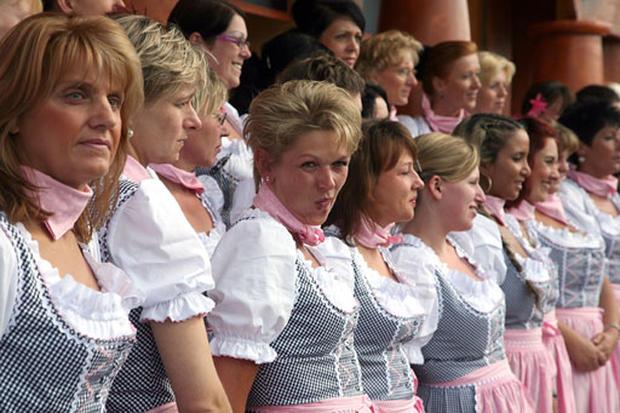 Munich Ready For Oktoberfest
