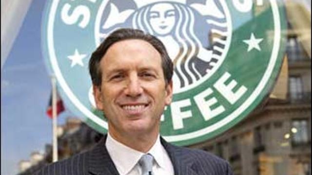 Starbucks founder Howard Schultz