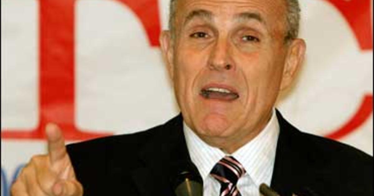 Archbishop: No Communion For Giuliani