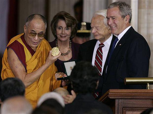 Dalai Lama Lauded