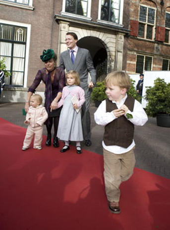 Dutch Princess Ariane's Baptism