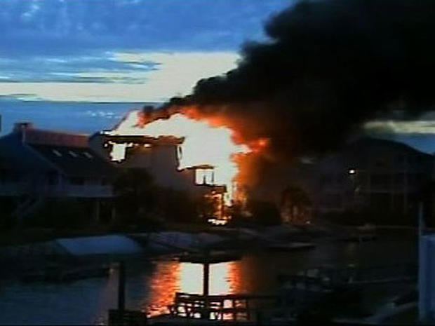 Tragic Beach House Blaze