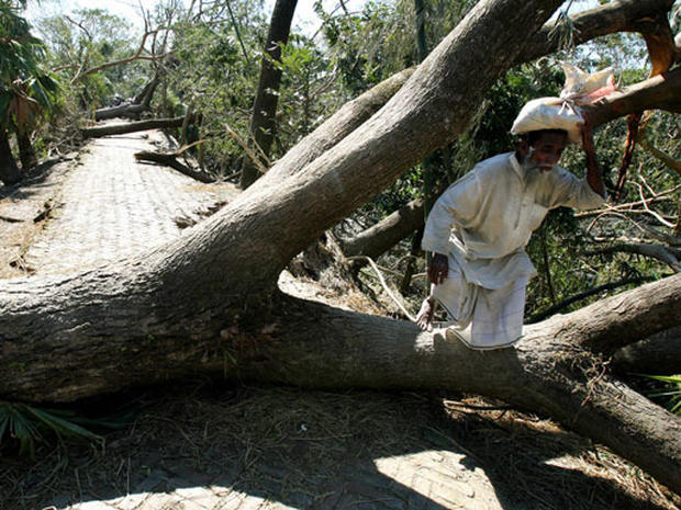Cyclone's Trail Of Destruction
