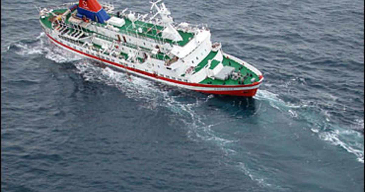 All Safe After Frigid Cruise Ship Rescue Cbs News