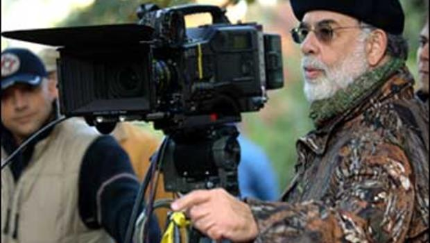 """Director Francis Ford Coppola on the set of """"Youth Without Youth"""""""