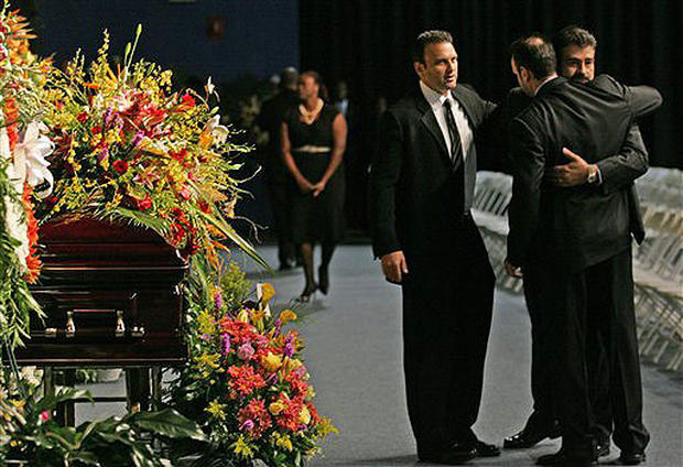 NFL Star's Funeral