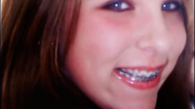 A portrait of Megan Meier, 13, who committed suicide last October
