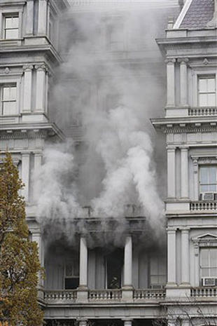 Exec. Office Building Blaze