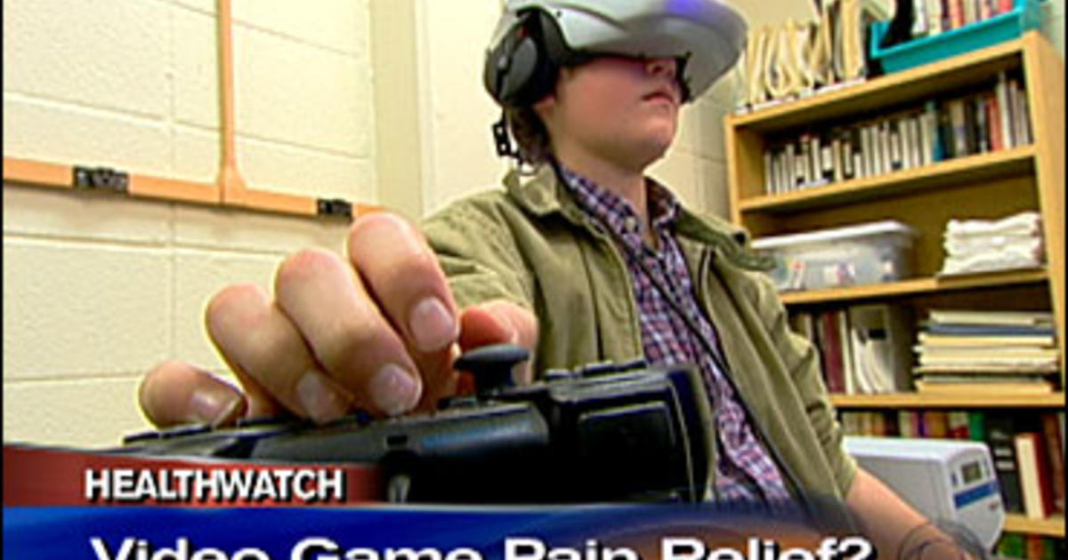 Researchers Show How Early Stress Hurts >> Video Games May Help Relieve Pain - CBS News