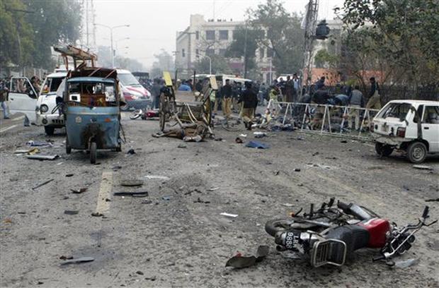 Pakistan Court Blast