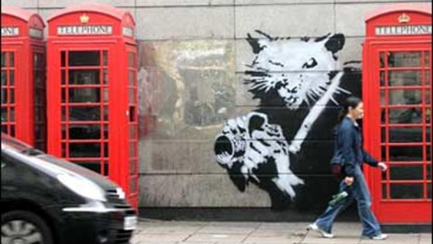 Banksy's Ritz Rat