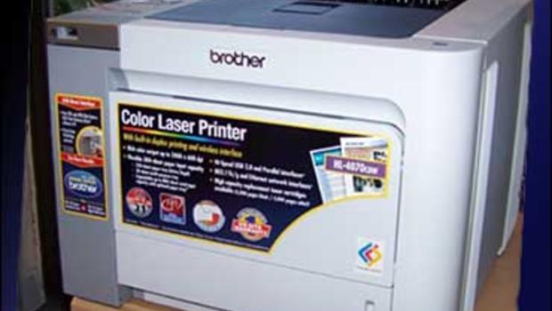 color laser printer technology comes home cbs news. Black Bedroom Furniture Sets. Home Design Ideas