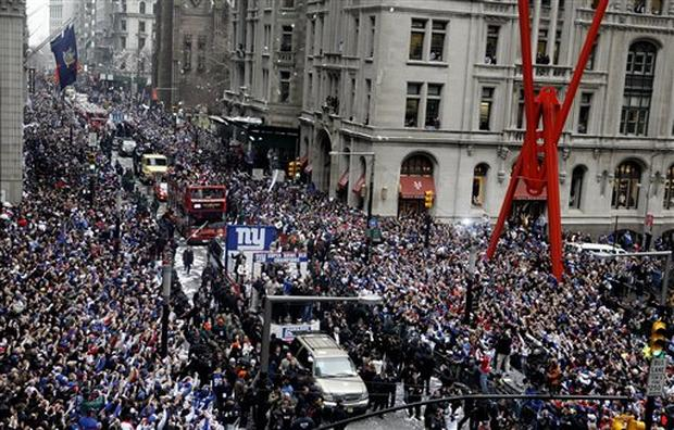 Giants Victory Parade