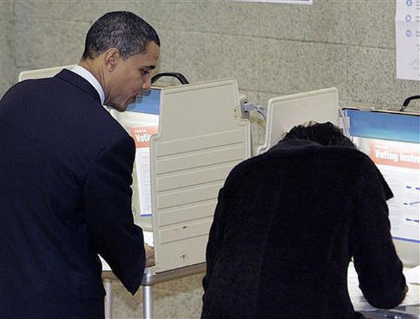 Candidates Cast Their Votes