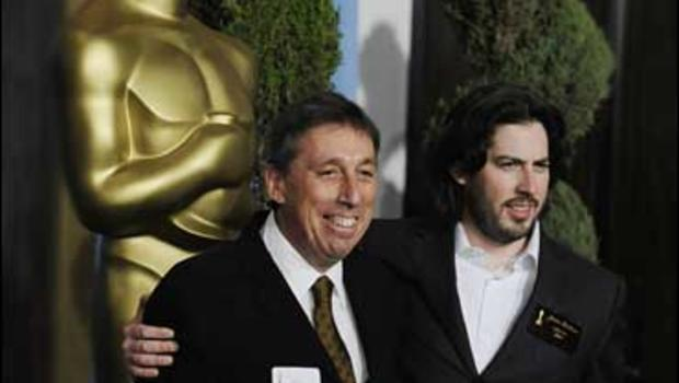 Jason Reitman and Ivan Reitman