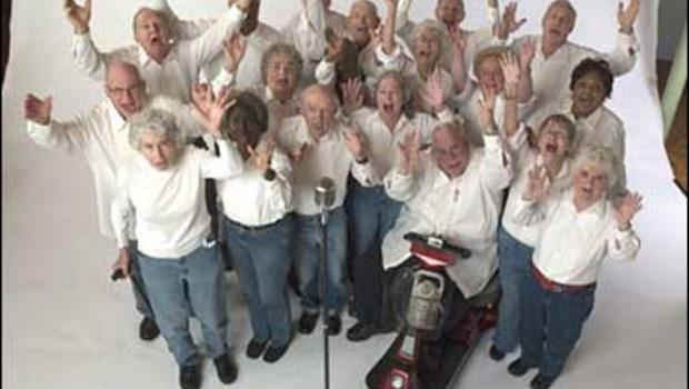 The Young @ Heart chorus members, now appearing in a new documentary
