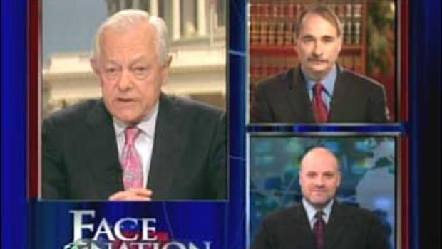 """Bob Schieffer, David Axelrod and Howard Wolfson on """"Face The Nation"""""""
