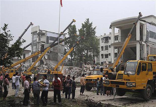 Quake Shakes China
