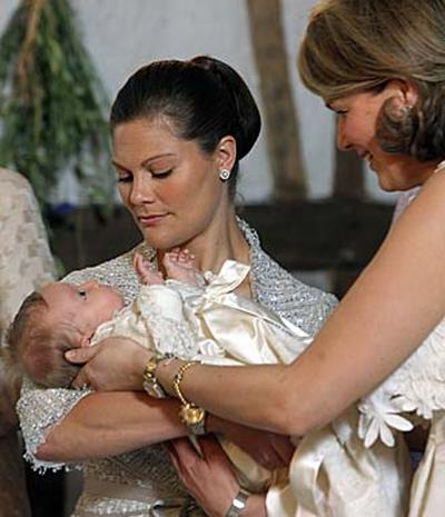 Belgian Princess Baptized