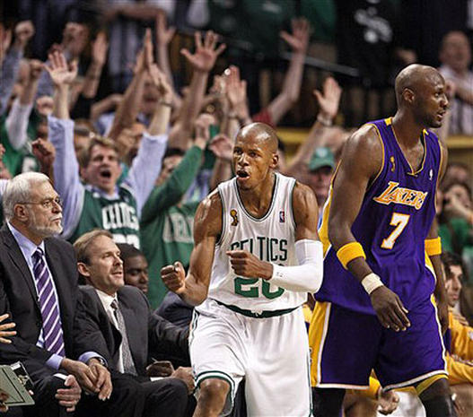 2008 NBA Finals: Game 6 - Photo 1 - Pictures - CBS News