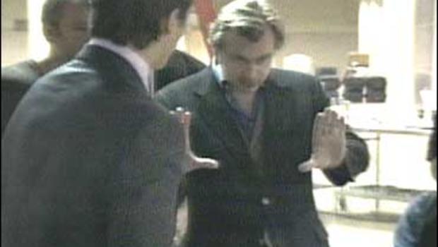 "Christopher Nolan directs ""The Dark Knight."""