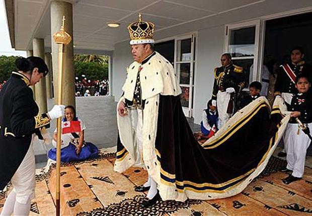 Tonga's New Monarch