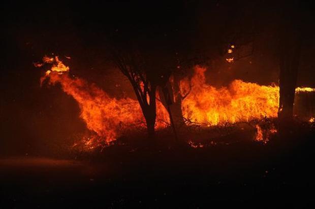 Montecito Wildfire