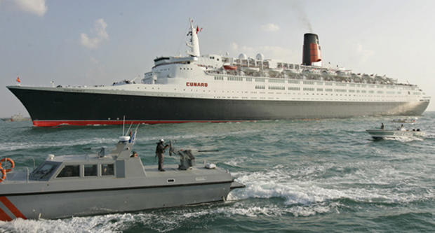 Bon Voyage To The QE2