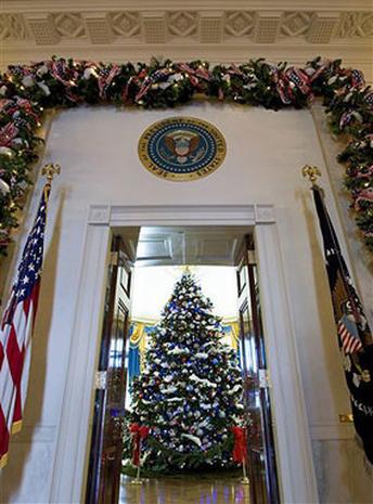 White House Glitters