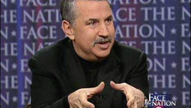 """New York Times columnist Thomas Friedman on """"Face The Nation."""""""
