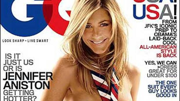 Jennifer Aniston Nude Tie