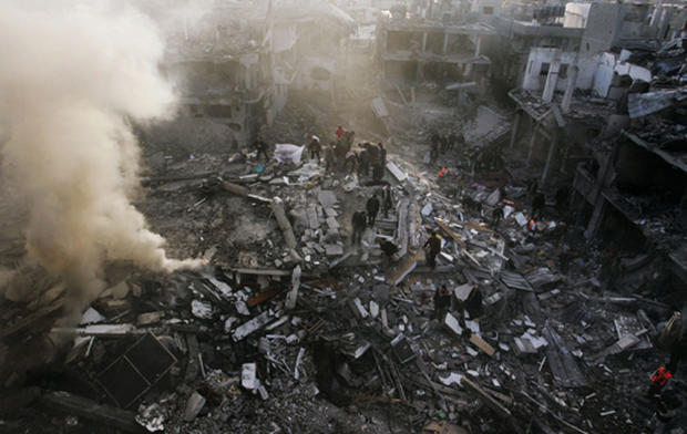 Gaza Attacks, And Protests, Grow