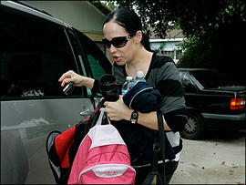 Nadya Suleman, the mother of octuplets