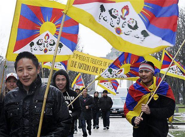 Rallying For Tibet