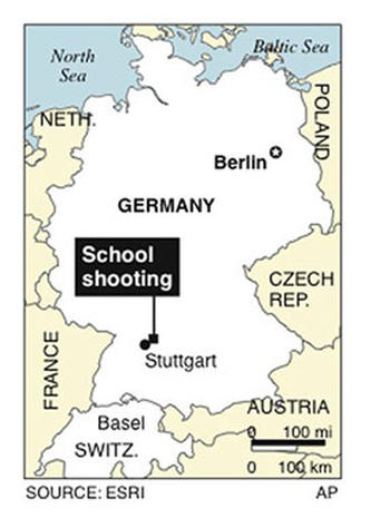 Germany School Shooting