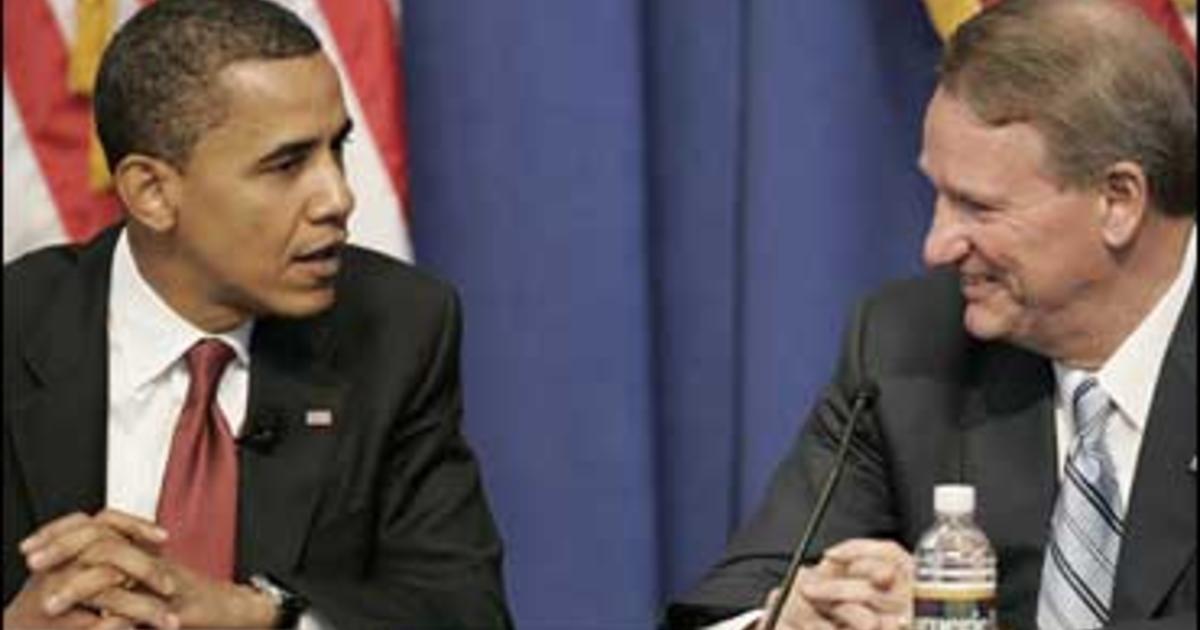 White house gm chrysler not viable cbs news for General motors pension plan administrator