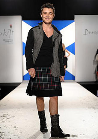 Stars Dressed To Kilt