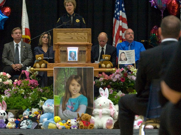 Slain Girl Mourned
