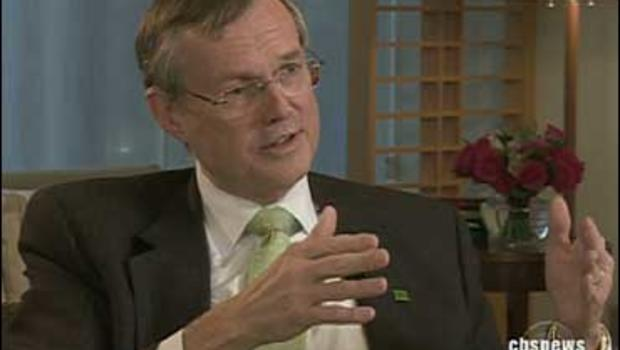 Ed Clark, CEO of Canada's TD Bank