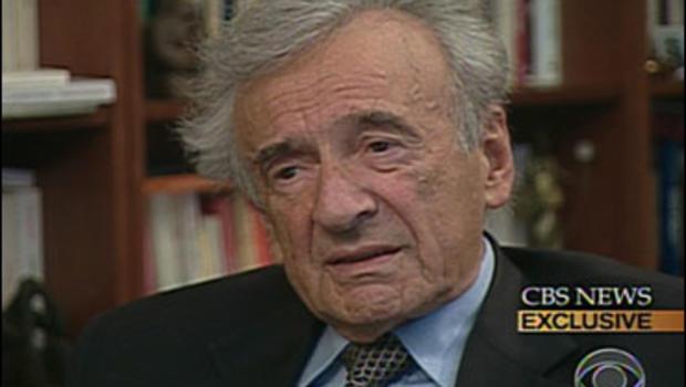 Nobel Peace Prize winner Elie Wiesel.