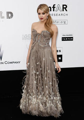 Celebs Arrive For AmfAR