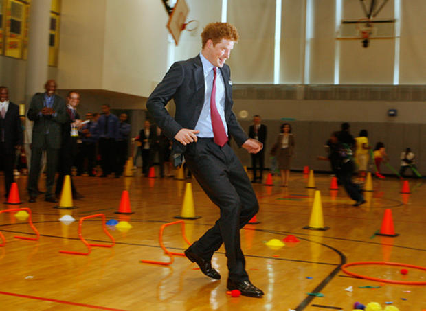 Prince Harry Visits New York City
