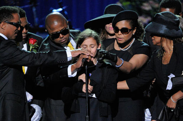 Jackson's Children Bid Farewell